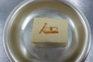 高野豆腐の焼印