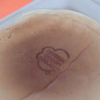 パンケーキに焼印